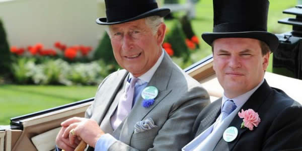 查尔斯王子穿晨礼服出席皇家赛马会