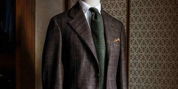 深褐色夹克氛围图