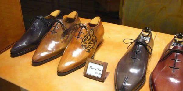 berluti皮鞋氛围图