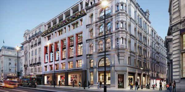 欧洲古老百货店氛围图