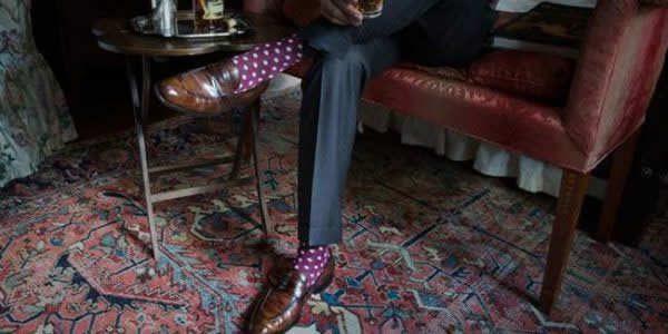 彩色袜子搭配