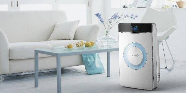 白色空气净化器