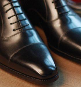 三接头牛津正装皮鞋