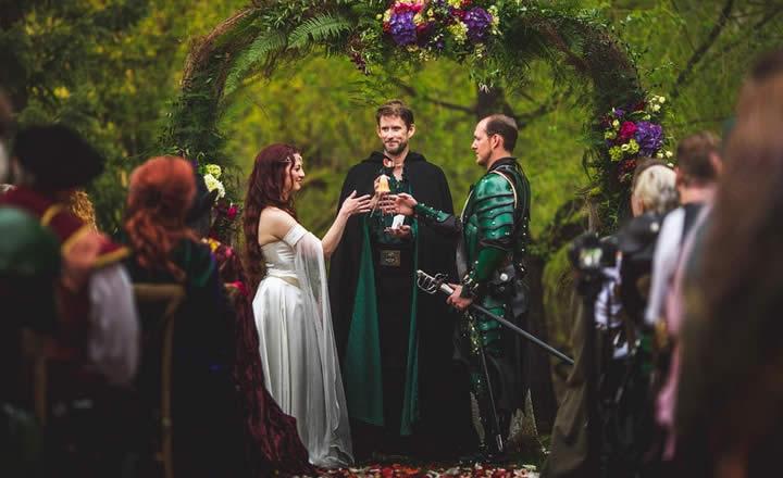权力的游戏主题婚礼