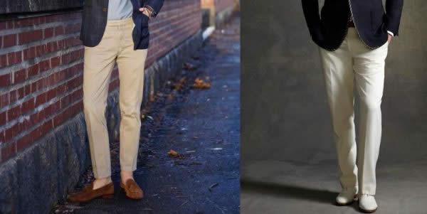 男士西裤剪裁