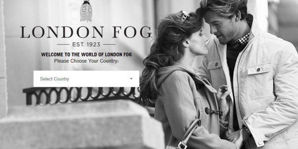 伦敦雾风衣海报